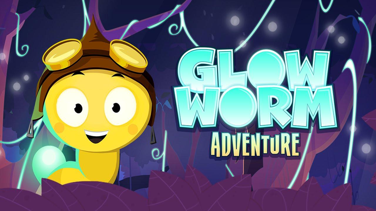 Glow Worm Adventure (PikPok Games) - Best App For Kids - YouTube