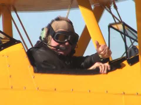 Dave Derby and a special Stearman ride