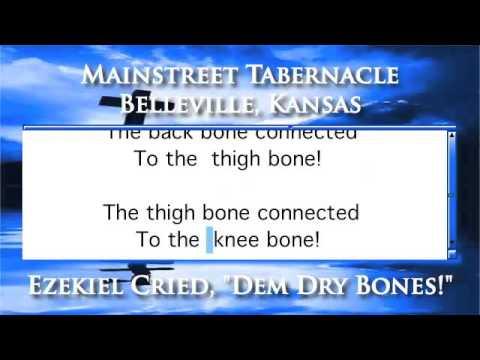 "Ezekiel Cried, ""Dem Dry Bones!"" - Piano Version"