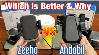 Zeeho vs Andobil : Which Fast Wireless Phone Car Charger is Better & Why
