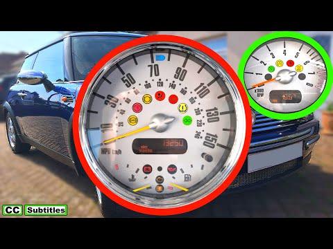 Mini Dashboard Lights Meaning - Mini R50 R53 First Generation 2000-2006