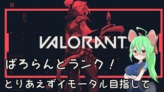 【VALORANT】ばろらんとランクマ!【VTuber】
