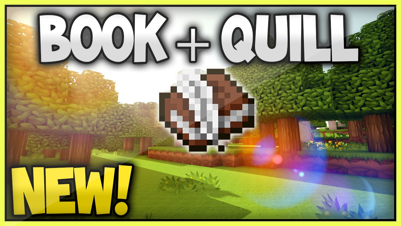 How To Make A Book Quill In Minecraft : New minecraft tu book quill xbox xboxone ps