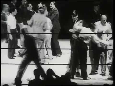 Joe Louis vs James J  Braddock 22 6 1937 - World Heavyweight Championship  (Selected Rd Highlights)