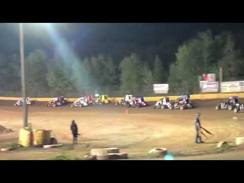 Paul Richards Hamlin Speedway Wingless 600s 9.1.18