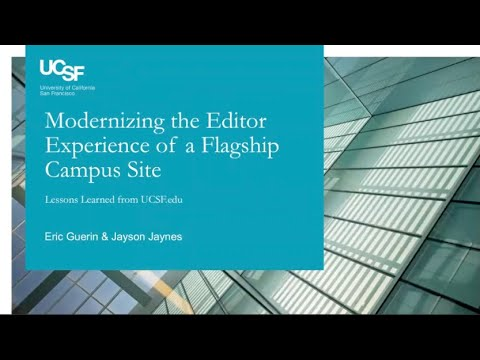 Modernizing the Editorial Experience of a Flagship Campus Site thumbnail