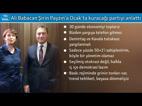 Ali Babacan: Memlekete Bakınca Içim Kan Ağlıyor, Yeni Bir Tek Adam Partisine Ihtiyaç Yok