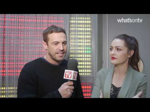 Anna Passey and Jamie Lomas: Filming Hollyoaks' fire stunt 'got the heart pumping'