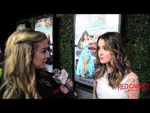 Laura Marano at the Bad Hair Day Premiere Red Carpet #BadHairDay #DisneyChannelPR