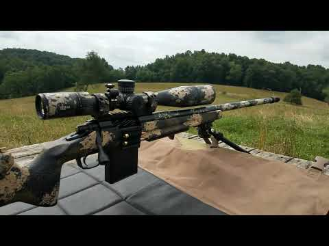 New Custom Rifle With Short Review And 600 Yard Group...