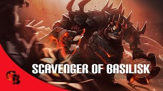 Dota 2: Store - Pudge - Scavenger of Basilisk w/ Korean Dota League Season 4
