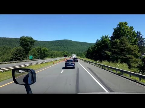 BigRigTravels LIVE! Syracuse, New York to Chicopee, Massachusetts Interstate 90 East-July 19, 2018