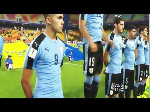 Entonaron himno chileno en vez del uruguayo en Mundial Sub 20 / Uruguay 2 Japón 0
