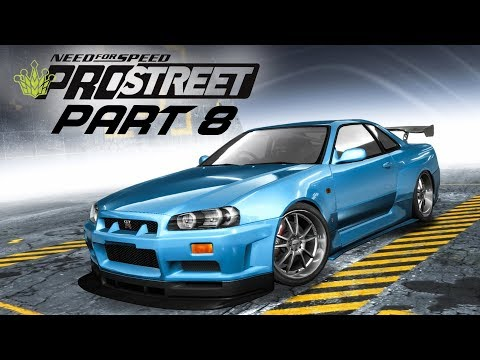 Need for Speed Prostreet Gameplay Walkthrough Part 8 - R34 SKYLINE & SUPRA