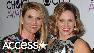 Lori Loughlin Being Fired From 'Fuller House' Left A 'Hole' In Co-Star Andrea Barber's Heart