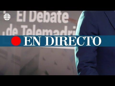 Debate electoral entre los candidatos a presidir la Comunidad de Madrid, en directo
