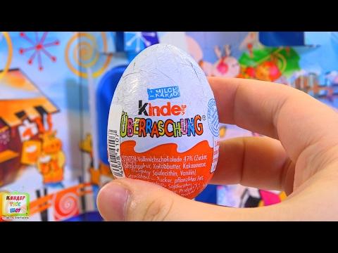 Киндер Сюрпризы 2006 года, открываем старые яйца киндер Rare Kinder Surprise