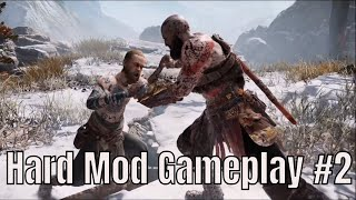 PS4 God Of War 4 Very Hard Mode Gameplay Part 2 | 2018