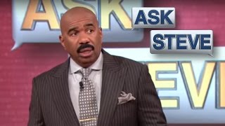 ask steve what the f you mean    steve harvey