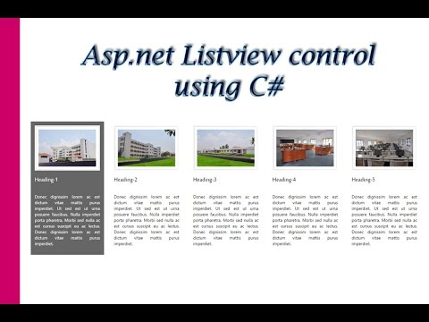 Bulk insert,update and delete with asp. Net listview control.