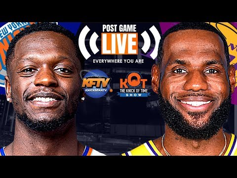 New York Knicks Vs. Los Angeles Lakers LIVE Play-By-Play, Analysis & Caller Reactions
