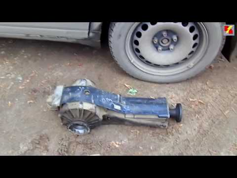Audi A6 гул редуктора quattro