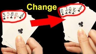 Easy Magic Card Trick To Impress Your Friends [Magic tutorials #28]