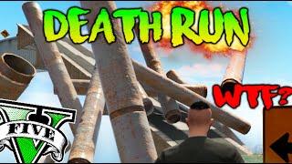 DEATH RUN !! QUE ESTOY ARDIENDO !! WTF?? GTA 5 ONLINE DEATH RUN Makiman