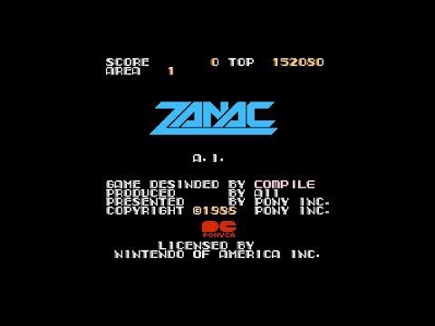 Zanac (NES): Полное Прохождение
