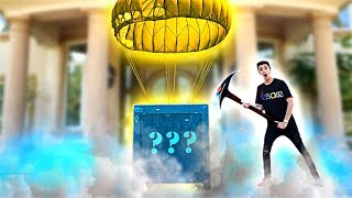Download Unboxing a FORTNITE Supply Drop in REAL LIFE!! **what's inside?** Mp3 and Videos
