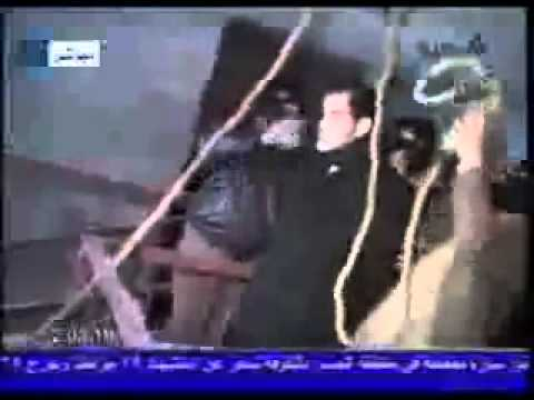 Saddam Hussien Execution. Hang on a £7m+ rope.