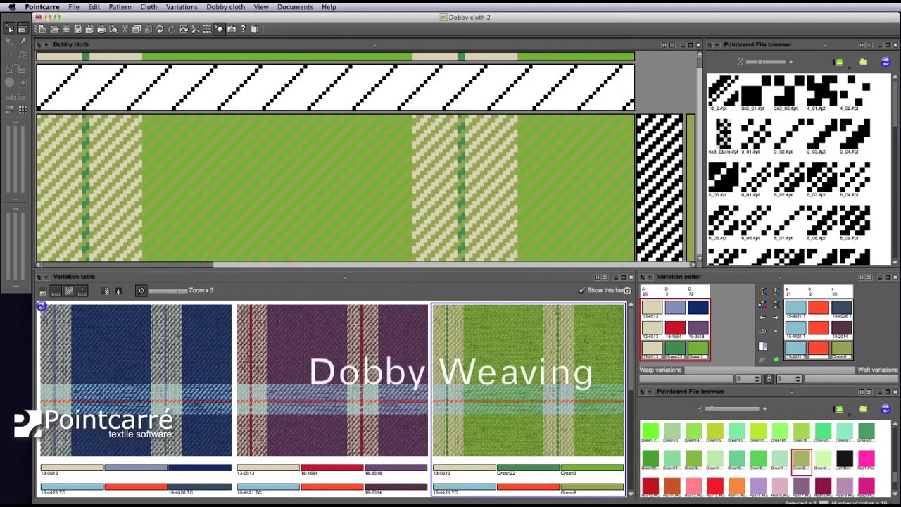 dobby weaving software textile cad program youtube