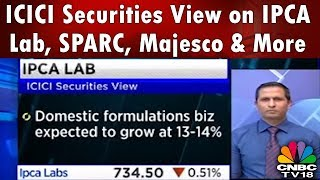 ICICI Securities View on IPCA Lab, SPARC, Majesco & More | CNBC TV18