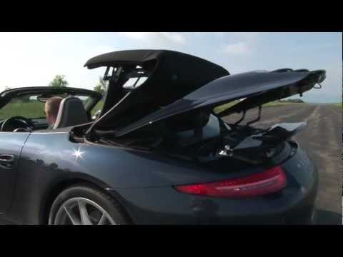 2012 Porsche 911 Carrera S Cabriolet - Drive Time Review with Steve Hammes