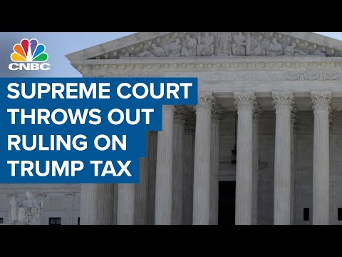 SCOTUS rules against Trump on financial records subpoena in NY ...
