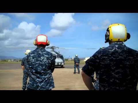 SH-60B Final Landing 11/16/10