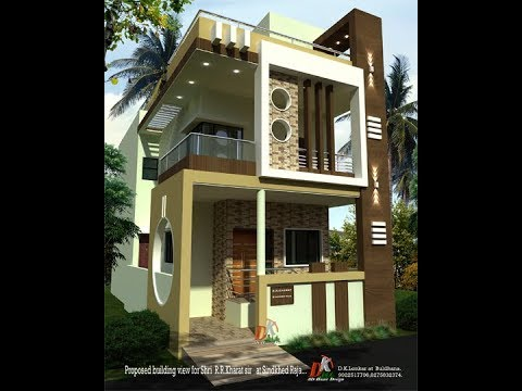 195 Feet Front House Plan Youtube