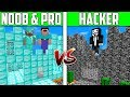 Minecraft NOOB vs PRO vs HACKER: CASTLE HOUSE Challenge in Minecraft / Animation