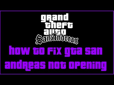 HOW TO FIX GTA SAN ANDREAS NOT OPENING PROBLEM SOLVED 100% [2020/2021]