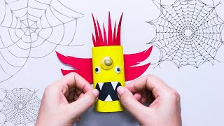 10 FUN &  EASY HALLOWEEN CRAFTS FOR KIDS