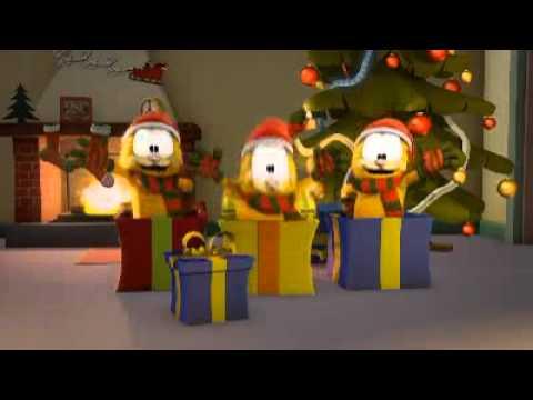 Garfield merry christmas to all youtube - Garfield noel ...