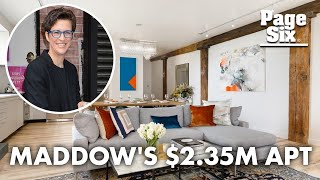 Rachel Maddow wants $2.35M for rock-star Manhattan apartment | Page Six Celebrity News