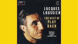 """JACQUES LOUSSIER """"The best of Play Bach"""" (1985) (FULL ALBUM)"""