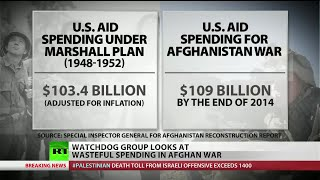 Spending on Afghanistan surpasses the Marshall plan