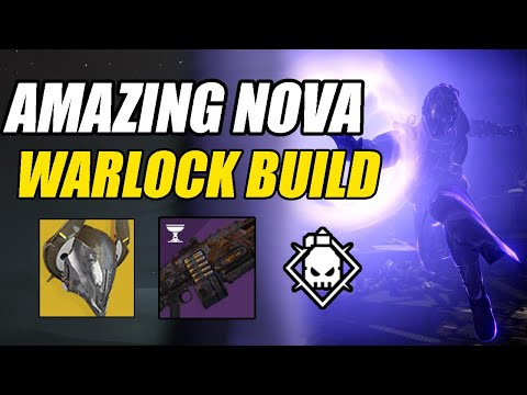 AMAZING Nova PVE Warlock Build | Warlock PVE Build | Destiny 2 Shadowkeep