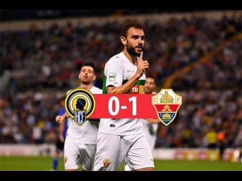 RESUMEN   Hércules CF 0-1 Elche CF   Copa del Rey