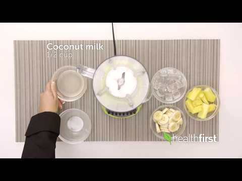 Watch: Kid-Friendly Pina Coladas– Healthfirst Healthy Living