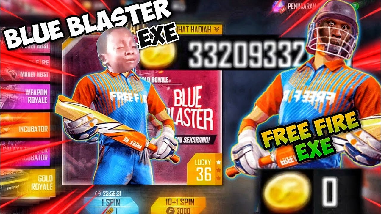 FREE FIRE EXE || New Gold Royal .exe