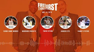 First Things First audio podcast (5.13.19)Cris Carter, Nick Wright, Jenna Wolfe   FIRST THINGS FIRST
