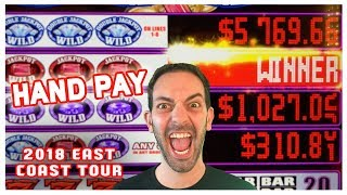 🏁💰Final Day HAND PAY @Live! Casino 🎰🌐EAST COAST TOUR ✦ BCSlots